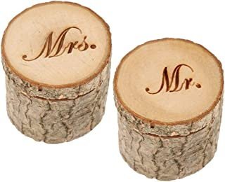 wooden ring case