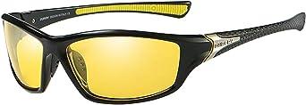 Colcolo Óculos de Sol de Esqui Esportivo, óculos de Proteção UV400 para Ciclismo E Bicicleta, óculos de Sol Unissex para Corrida/Esqui/Snowboard