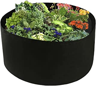 Xnferty 100 Gallons Extra Large Round Raised Garden Bed, Deep Soil Diameter 38