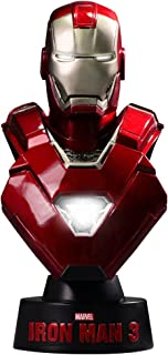 Marvel Iron Man 3 Mark XXXIII 33 Silver Centurion 1/6 Collectible Bust by Hot Toys