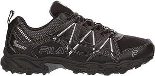 Fila Men's at Peake 17 Faux Leather, Rubber, Mesh Hiking Sneakers