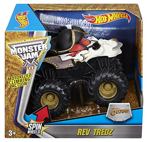 Hot Wheels Monster Jam Rev Tredz Pirate Vehicle (1:43 Scale) by Hot Wheels