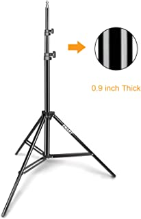 Selens Photography Light Stand kit 6.5 Feet // 78 inches Compact Tripod with Carrying Case for HTC Vive Photo Studio Video Reflector Umbrellas,Speedlite Led Ring Light 2 Pack