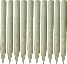 34x1150mm 6 x Zaunpfosten Zaunpfahl f/ür Maschendrahtzaun zinkphosphatiert gr/ün kunstoffbeschichtet