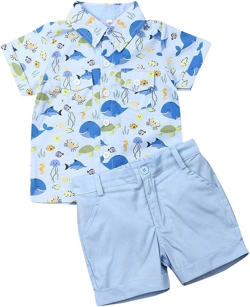 Fresno Mall Toddler Kids Baby Boy Award Fruit Clothes Set Solid Pineapple T-Shirt