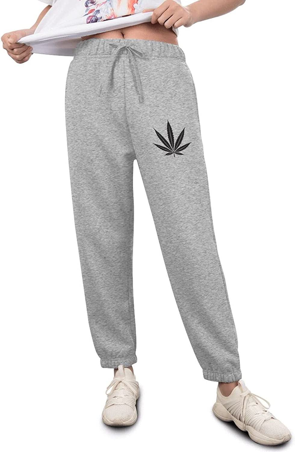 Marijuana Max 71% OFF Leaf Weed Smokers Womens' Now free shipping Track Jogger Pants Sweatpant