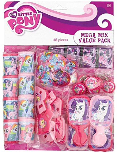48 Pcs My Little Pony Birthday Party Favor Pack Prizes Pinata Bag Fillers Supply