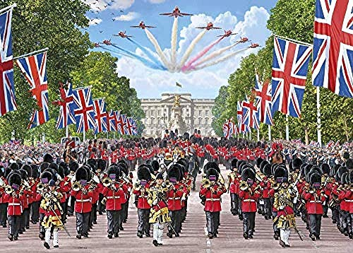 6000 Pieces of Adult Wooden Jigsaw Puzzle British Royal Band Fun Family Toy Game