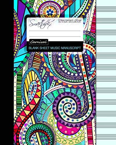 Blank Sheet Music: Music Manuscript Paper / Staff Paper / Musicians...