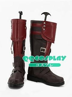 コスプレ靴 ライトニング リターンズ ファイナルファンタジーXIII FFXIII、FF13 ライトニング (Lightning) / エクレール・ファロン cosplay
