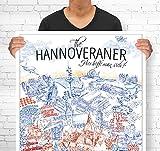 Lieferlokal Stadtposter Hannover in limitierter Auflage -