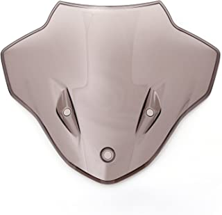 KKmoon Vent Universel de Pare-brise de Moto Pare-brise R/églable de Protection de D/éflecteur Remplacement pour B-MW R NINE T R9T 2014-2019