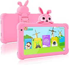 Kids Tablet, 7 inch Wi-Fi Toddler Tablet for Kids, 16GB Storage 1024x600 IPS HD Display, Android 9.0 Child Edition Tablets...