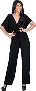 belted jumpsuit with kimono sleeve