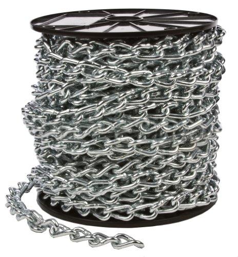 Forney 70426 Twist Link Machine Chain, 2/0-by-110-Feet