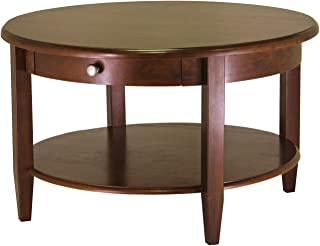 Winsome Wood 94231 Concord Occasional Table, Antique Walnut