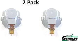 2 Pack MTD 925-1649 Headlight Socket Fits Bolens Craftsman Troy-Bilt Cub Cadet