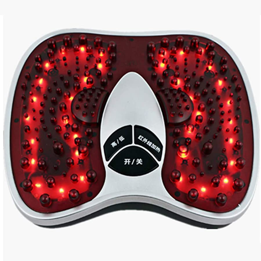知事決済許容電気の 電気足のマッサージャーの低頻度の振動マッサージ36の足跡の痛みを和らげるために深い混練 人間工学的デザイン, White