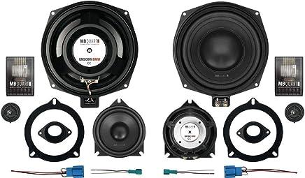 Hifonics Haut-parleurs 400/W 16,5/cm vx6.2e kompo avec kit de montage pour Citroen Jumpy II G9//X9//à partir de 01//2007