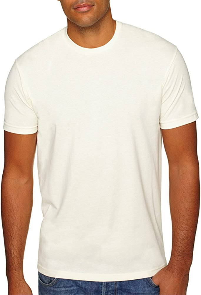 Next Level Men's Premium 1X1 Sueded Baby Rib T-Shirt Collar We OFFer OFFer at cheap prices