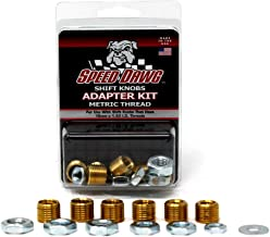Speed Dawg Metric Thread Shift Knob Adapter Kit with 6 Sizes