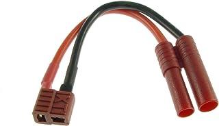 ikarex-shop 1x Ladekabel XT30 Stecker auf 4mm Bananenstecker Goldstecker 4.0mm Adapterkabel 30cm RC Adapter