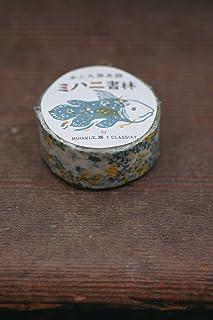 倉敷意匠計画室 ミハヤ書林 カタバミ マスキングテープ 1巻パック (グリーン)