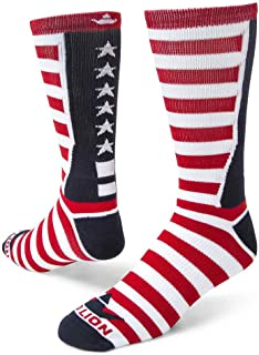 Red Lion Team USA Patriotic Crew Socks
