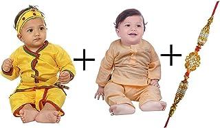 FOCIL 1 Combo for 2 Festivals Janmashtami & Raksha Bandhan Combo Pack for Kids and (Free Rakhi)