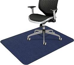 "SALLOUS Chair Mat for Hard Floors, 1/6"" Thick 55"" x 35"" Rectangular Protector Chair Mats for Hardwood Floors, Multi-Purpos..."