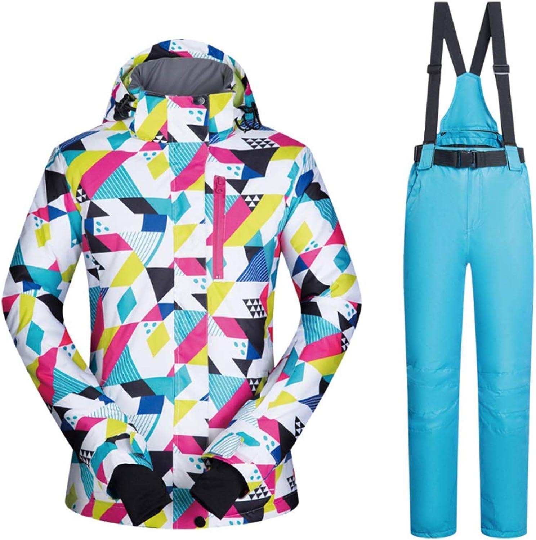 CEFULTY Women Jacket Winter Girl Coat Outdoor Sport Dress Ski Jacket Windproof & Waterproof