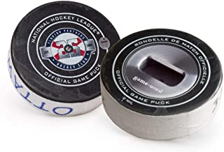 Tokens & Icons Game Used NHL Florida Panthers Hockey Puck Beer Bottle Opener