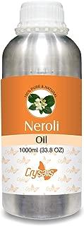 Crysalis Neroli Oil 100% Natural Pure Undiluted Uncut Essential Oil 10ML 1000ML