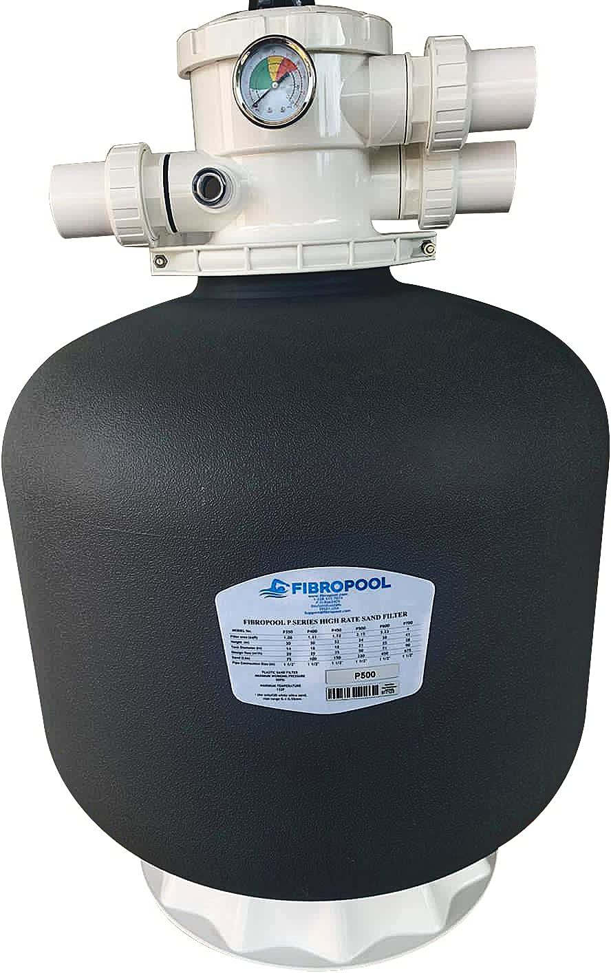 FibroPool Swimming Pool Miami Mall Bargain sale Sand Filter Diameter Lbs 220 Includi 21