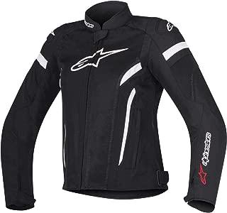 Alpinestars T-GP Plus R Air V2 Women's Street Motorcycle Jackets - Black/White/Small