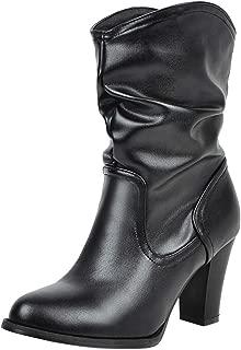 Melady Women Fashion Western Booties