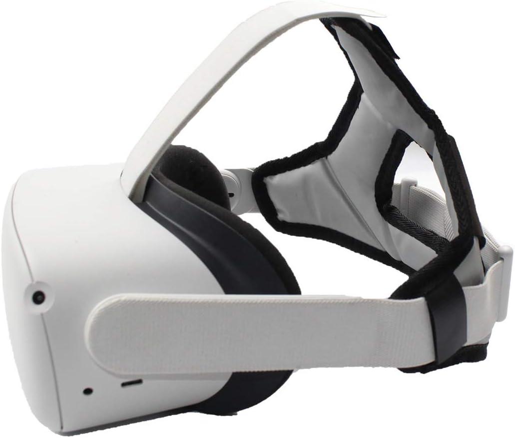 Jilin VR Helmet Head Pressure-Relieving Strap Foam Pad for -Oculus Quest 2 VR Headset