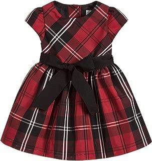 Ralph Lauren Baby Girls Plaid Taffeta Dress & Bloomer Set