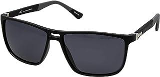 نظارات نمط رترو 5027 C:2 للرجال لون اسود/رمادي (لون واحد)، (مستقطبة)