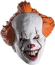 LANCOLD Scary Clown Maschera Adulto Horror Clown Demone Halloween Cosplay Maschere Costume