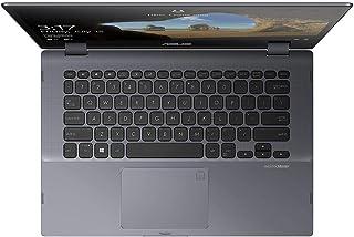 ASUS TP412FA-EC141T Laptop - 14 Inches, Intel Core i3 8145U, 256 GB SSD, 4 GB RAM, Integrated Intel UHD Graphics 620, Wind...