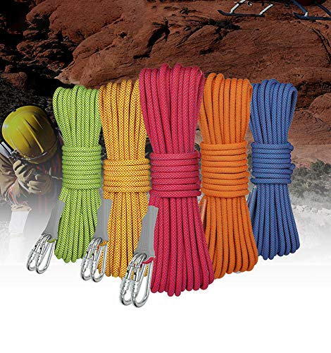 LLluckyHW Cuerda de polímero, Cuerda Resistente y portátil, Adecuada for la decoración de Muebles de jardín en Bote, Colgador de Plantas de Bricolaje Hecho a Mano (Color : C30M)