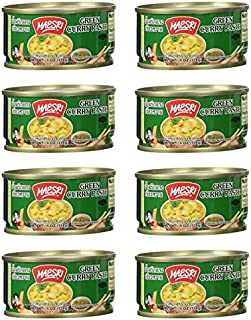 Maesri Thai Green Curry Paste - 4 Oz (Pack of 8)