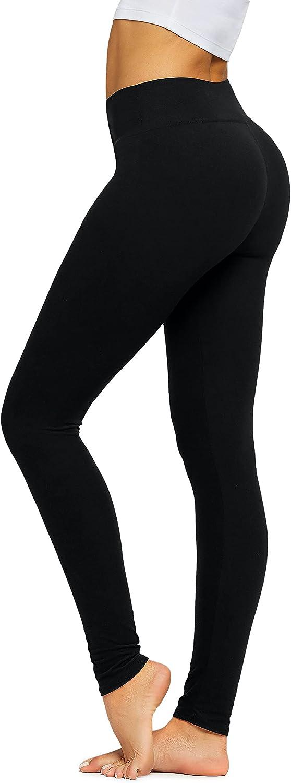 Premium Ultra Soft Leggings for Women in Full Length, Capri and Shorts - High Yoga Waist - 25 Colors and Prints