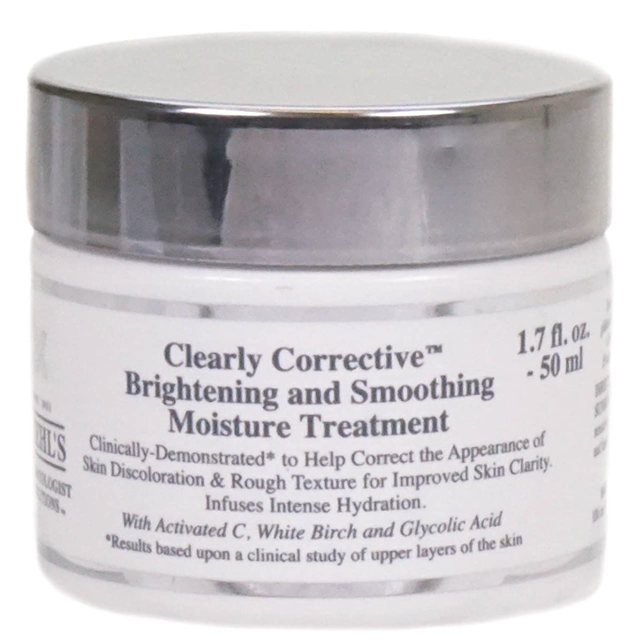 穀物露出度の高い火山学キールズ Clearly Corrective Brightening & Smoothing Moisture Treatment 50ml/1.7oz並行輸入品