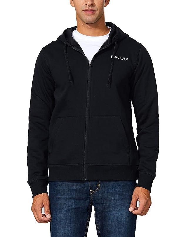 Baleaf Men's Active Fleece Hoodie Full Zip Sweatshirt is399005129