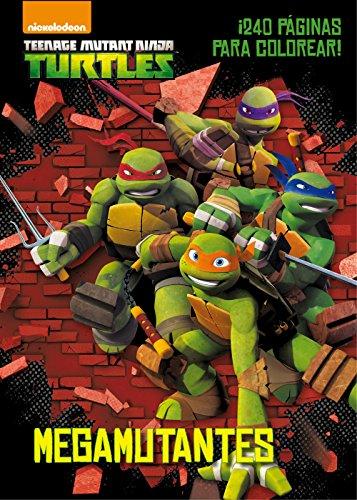 Las Tortugas Ninja. Megamutantes: Libro para colorear