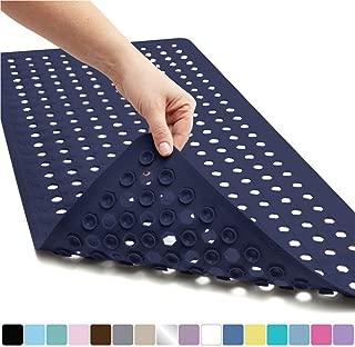 black shower mat rubber