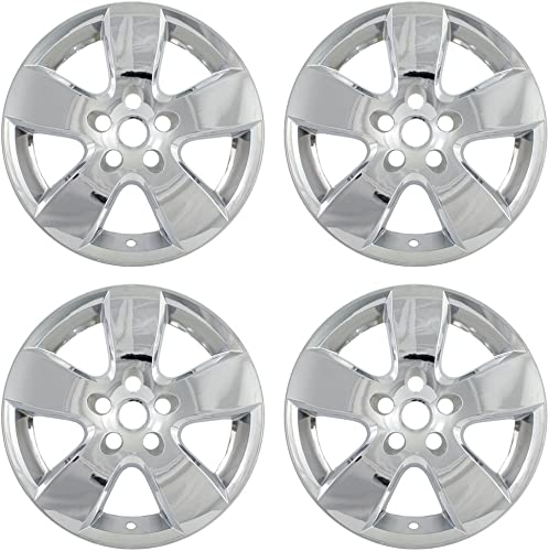lowest 20 inch Hubcap Wheel Skins for 2008-2013 lowest Dodge Ram-(Set outlet online sale of 4) Wheel Covers- Car Accessories for 20inch Chrome Wheels- Auto Tire Replacement Exterior Cap Cover outlet sale