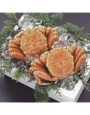どさんこグルメマーケット 毛ガニ 1.26kg (約630g×2尾) 北海道産 ギフト 浜茹で ボイル 冷凍 解凍のみでOK 堅蟹 良品 選別 カニ味噌 毛蟹